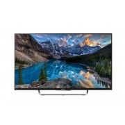 Televizor Smart LED 3D Sony 108 cm Full HD 43W808CBAEP, WiFi, USB, CI+, NFC, Android OS, Silver