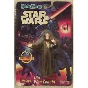1993 Just Toys Star Wars Bend-Ems Obi Wan Kenobi Bendable and Poseable Figure-item 12454