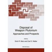 Disposal of Weapon Plutonium by Erich R. Merz