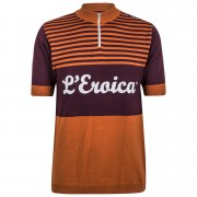 Santini L'Eroica Gaiole 2015 Event Series Short Sleeve Jersey - Dark Red - M