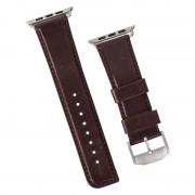 Curea de piele Case-Mate Signature pentru Apple Watch 42mm, Brown