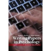 Writing Papers In Psychology by Ralph L. Rosnow