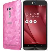 Telefon Mobil Asus Zenfone Selfie ZD551KL Dual SIM : 4G / LTE, 5.5 inch, Android 5.0, 32 GB, 3GB RAM, Octa-core, 13 MP, 3000 mAh - Polygon Pink