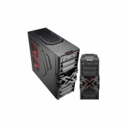 Gabinete AeroCool Strike-X One Advance 2 Ventiladores Led USB 3.0-Negro