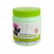 Balsam-masca cu ulei de brusture impotriva caderii parului