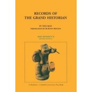 Records of the Grand Historian: Han Dynasty II by Sima Qian