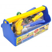 Childrens Learning Tools From Little Treasures 16 Piece Deluxe Tool Series Pretend And Play Fixing Tool Play Set With Tool Tote Bag For Little Builders