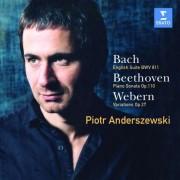 Piotr Anderszewski - Bach Beethoven Webern (0724354563225) (1 CD)
