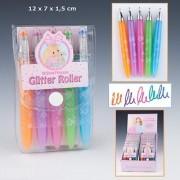 Princess Glitter Gel Pen Set