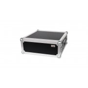 "AWEO 4 HE Rack 19"" Double Door 39 CM Flightcase 7 mm MPX"