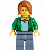 Lego exclusive Minifigure CLAIRE from Temple of Airjitzu set 70751