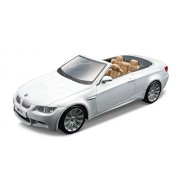 Bburago 1/32 Plus - Bmw M3 Cabriolet, White