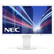 "Monitor IPS LED Nec 23"" EA234WMi, Full HD (1920 x 1080), HDMI, DVI, VGA, DisplayPort, USB, 6 ms, Boxe, Pivot (Alb)"