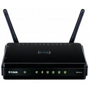 Router Wireless D-Link DIR-615, Wireless N, 300 mbps, WPA, WEP, PPPoE, Control parental, 2 Antene 2 dBi