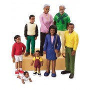 Pretend and Play People - Black Family by Lakeshore Learning Materials