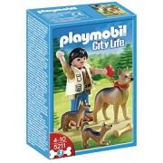PLAYMOBIL German with Shepherd Puppies