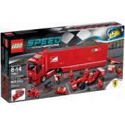 LEGO® Speed Champions F14 T şi camionul echipei Ferrari 75913