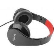 Casti Audio cu Microfon Qoltec Negru/Rosu 50812