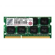 Memorie laptop Transcend 4GB DDR3 1333 MHz CL9 1.35V