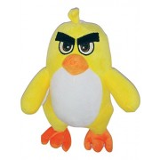 Shopsmeade Cute Angry Birds Soft Toys 25 cm | Kids Girls Boys Child Toys | Gifts for Boyfriend Girlfriend Fiance Spouse Friends Him Her Men Girl Birthday Anniversary Everyday Gift Soft Toys | Plush Toys | Animal Soft Toys (Yellow)