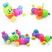 PYD Cute Baby Kids Clockwork Walking Caterpillar Wind Up Insects Running Animals Developmental Educational Toy