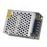 Aleacion de aluminio BTY Interruptor portatil Fuente de alimentacion - Plateado Blanco + Negro (110 ~ 220V)