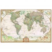 Harta lumii antică politică, format uriaş National Geographic