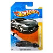 "Mattel Year 2010 HotWheels ""2011 NEW MODELS"" Series Set (48/50) 1:64 Scale Die Cast Car (48/244) - Metallic Grey Full Size Luxury Concept Car LAMBORGHINI ESTOQUE (T9718) by Hot Wheels"