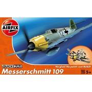 Airfix J6001 - Modellino Messerschmitt 109 Quick-Build
