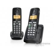 Telefon wireless Gigaset A220 DUO (DECT), negru