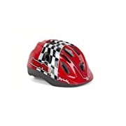 Spiuk Kids - Children's cycling helmet, colour red, size 52 - 56