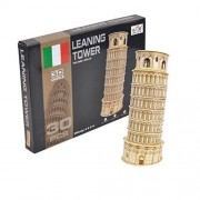 "Philomel® 3D Puzzle The Leaning Tower of Pisa Puzzle Games, 30 PCS, 4.6"" x 5.5"" x 11.8"""