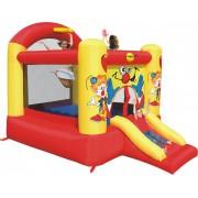 Saltea gonflabila Happy Hop Slide and Hoop