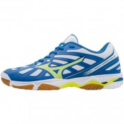 mizuno Herren-Volleyballschuh WAVE HURRICANE 3 - White / Safety Yellow
