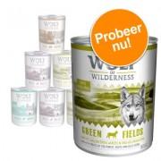 Wolf of Wilderness - Gemengd Pakket - 6 x 400 g