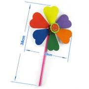 Magideal Diy Handmade Flower Shaped Foam Windmill Model Kit Kid Craft Educational Toy