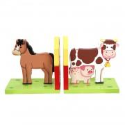 Primary Products Ltd Serre-Livres Happy Farm Multicolore
