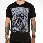 Camiseta Café Racer Preto