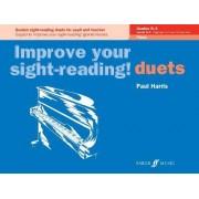 Duets Piano Grades Pre-Grade 1 to Grade1 by Paul Harris