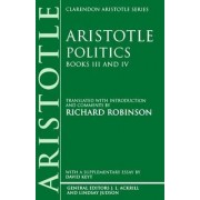 Politics: Books III and IV by Aristotle