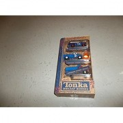 tonka diecast vintage mini 3-pack - hardware panel truck cargo carrier and dump truck