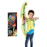 Játék szett G21 Világító íj céltáblával zöld