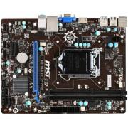 Placa de baza MSI H81M-E33, Intel H81, LGA 1150