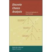 Discrete Choice Analysis by Moshe E. Ben-Akiva