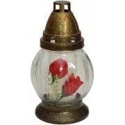 Candela Sticla R152 floare