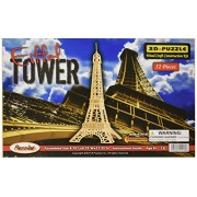 Puzzled, Inc. 3D Natural Wood Puzzle - Eiffel Tower by Puzzled