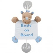 Nattou 644358 - Baby On Board Louis il Rinoceronte
