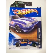 Hot Wheels 2011 HW Racing '92 Ford Mustang on Green Lantern Card by Hot Wheels