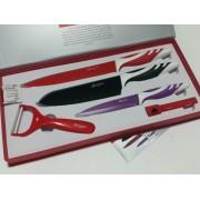 Комплект швейцарски ножове Bachmayer Swiss Zurich 5 части + Подарък тирбушон