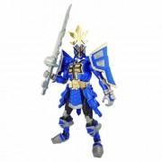 Power Rangers Samurai - Mega figura Ranger Shogun, color azul (Bandai 31742)
